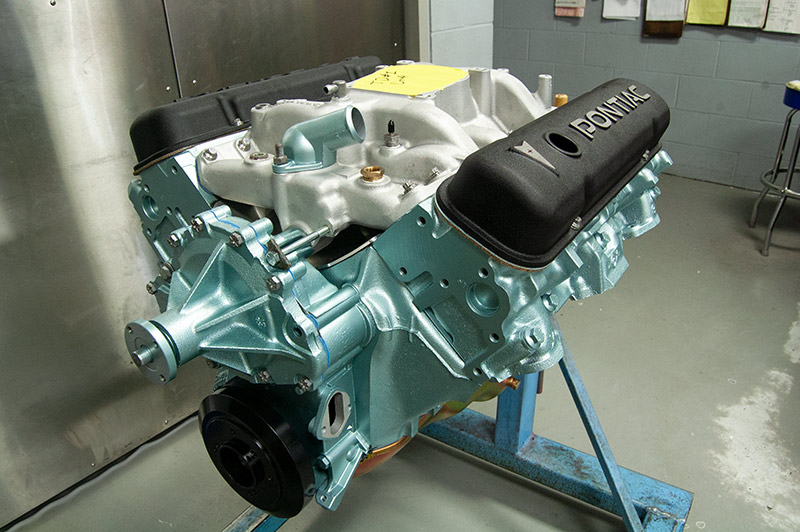Pontiac engine block